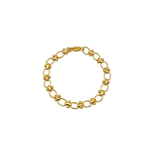 Chrissy Gold Chain Bracelet