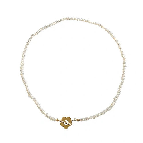 Blossom Pearl Necklace