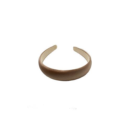 Champagne Satin-silk Headband