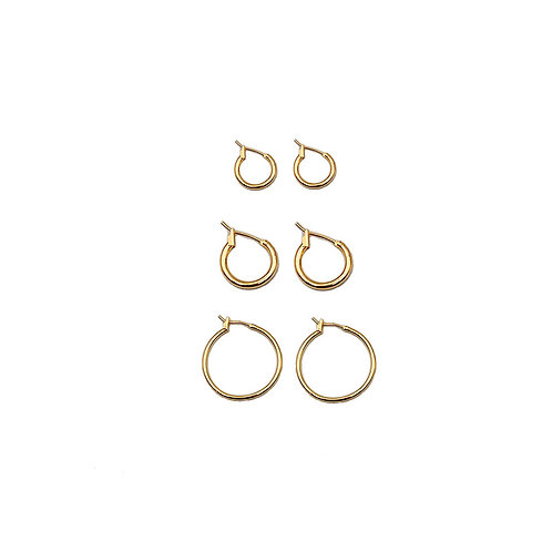Hoola Gold Earrings