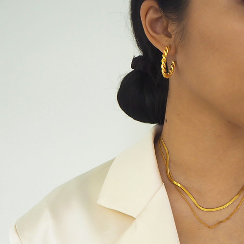 Florence Gold Earrings