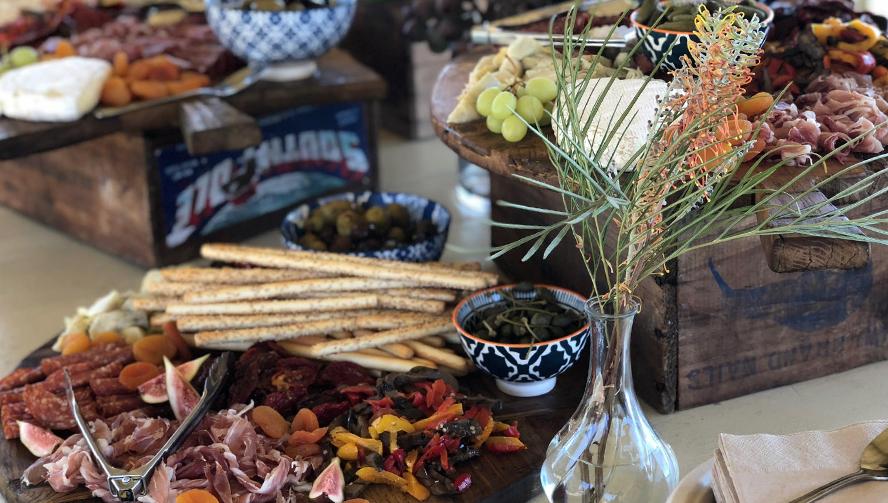 Antipasto grazing table