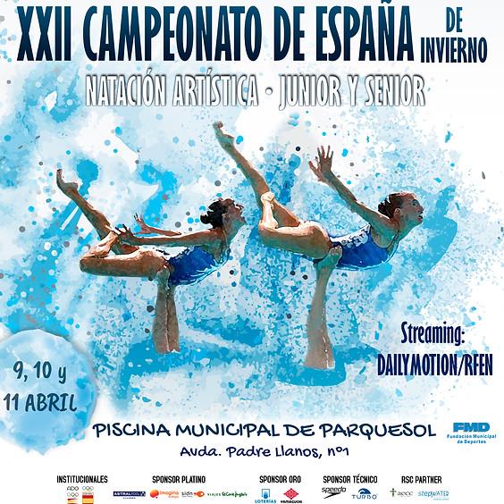 XXI SPANISH CHAMPIONSHIP WINTER JUNIOR AND SENIOR