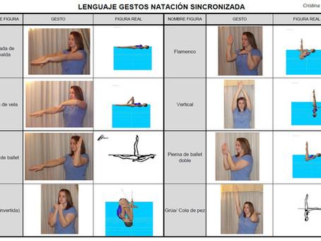 Lenguaje gestual en sincro