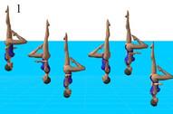 13. tirabuzon combinado inverso rodilla