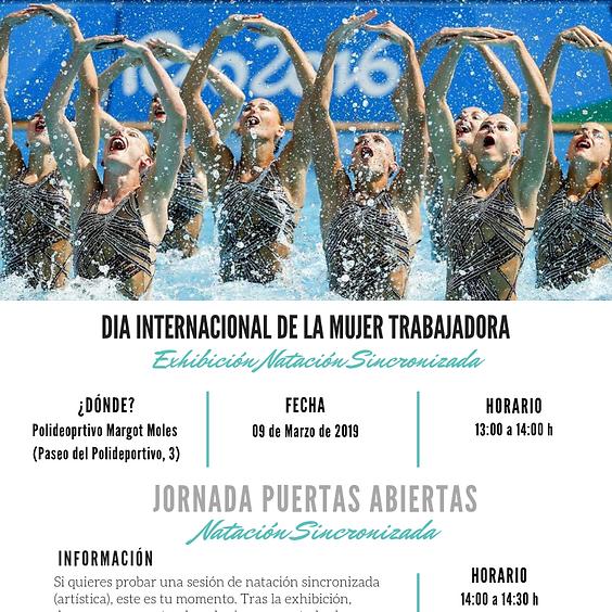 EXHIBICIÓN DIA INTERNACIONAL DE LA MUJER TRABAJADORA