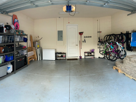GARAGE ORGANIZATION: What you need to consider before you start.