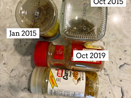 HOW TO: ORGANIZE YOUR SPICES!