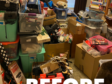 DECLUTTERING: what to do when you're ready to let go.