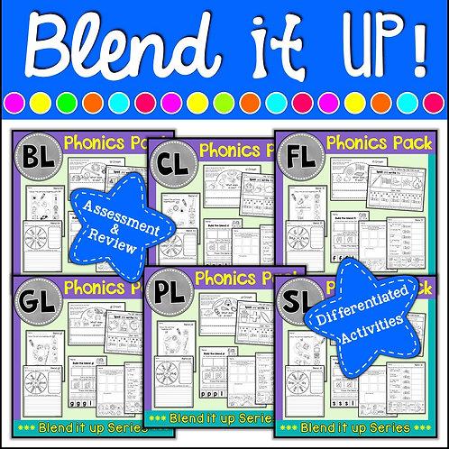 Phonics: L Blends Phonics Mega Pack