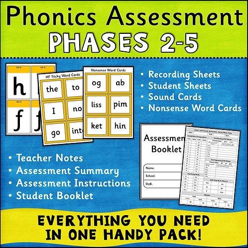 Phonics Assessment Phases 2-5