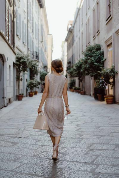 Fashion styling in Milan