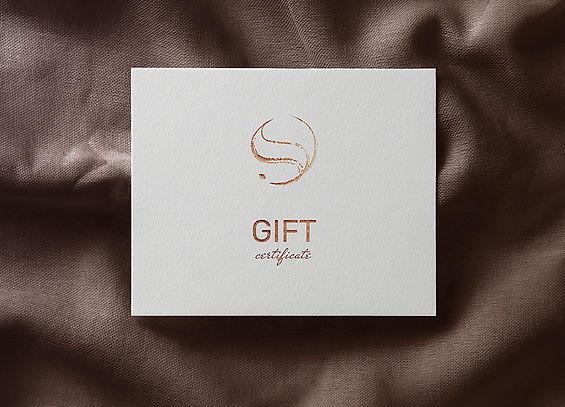 gift certificate fashion styling