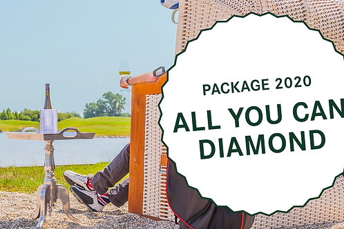 """All you can Diamond"" Package - 2 Nächte für 1 Person"