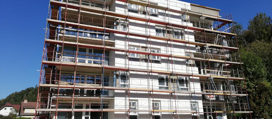Wohnbauprojekt Wolfsberg, Reconstructing Altsiedlung Schwemmtratten Neue Heimat BSt. I