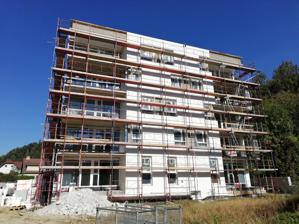 Wohnbauprojekt Wolfsberg Reconstructing Altsiedlung Schwemmtratten Neue Heimat Bst I