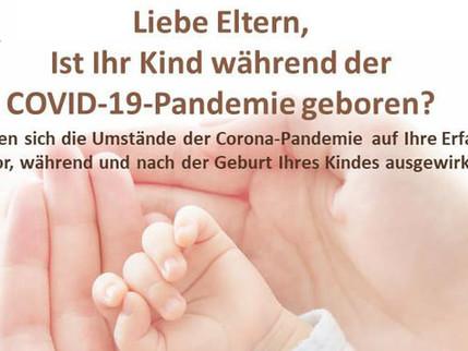 Studie: Eltern werden in Zeiten der COVID-19-Pandemie