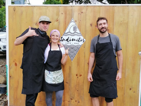 They opened a Vegan Café during the pandemic, feeling supported by the community
