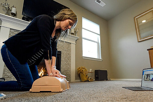 RSV Adult Only CPR/AED and Basic First Aid w/Loaner Manikin