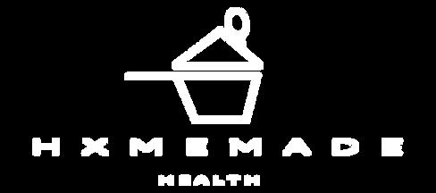 HXMEMADEHEALTHLOGO-WHITE TEXTNO BACKGROU