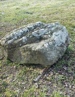 Large Mossy Boulder