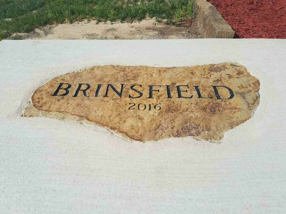 Brinsfield Engraved Flagstone
