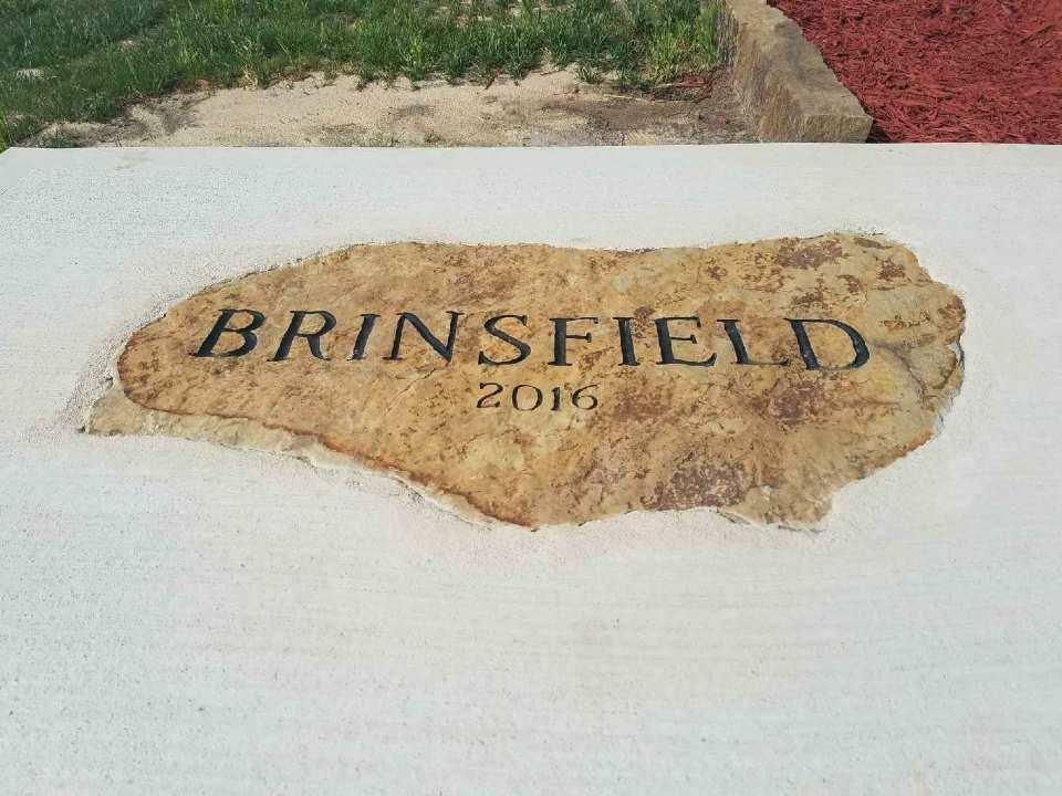 Brinsfield Engraved Stone