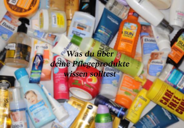 Schadstoffe in Pflegeprodukte: Was sollte ich als Mama wissen? Gastbeitrag Sarah Dietrich