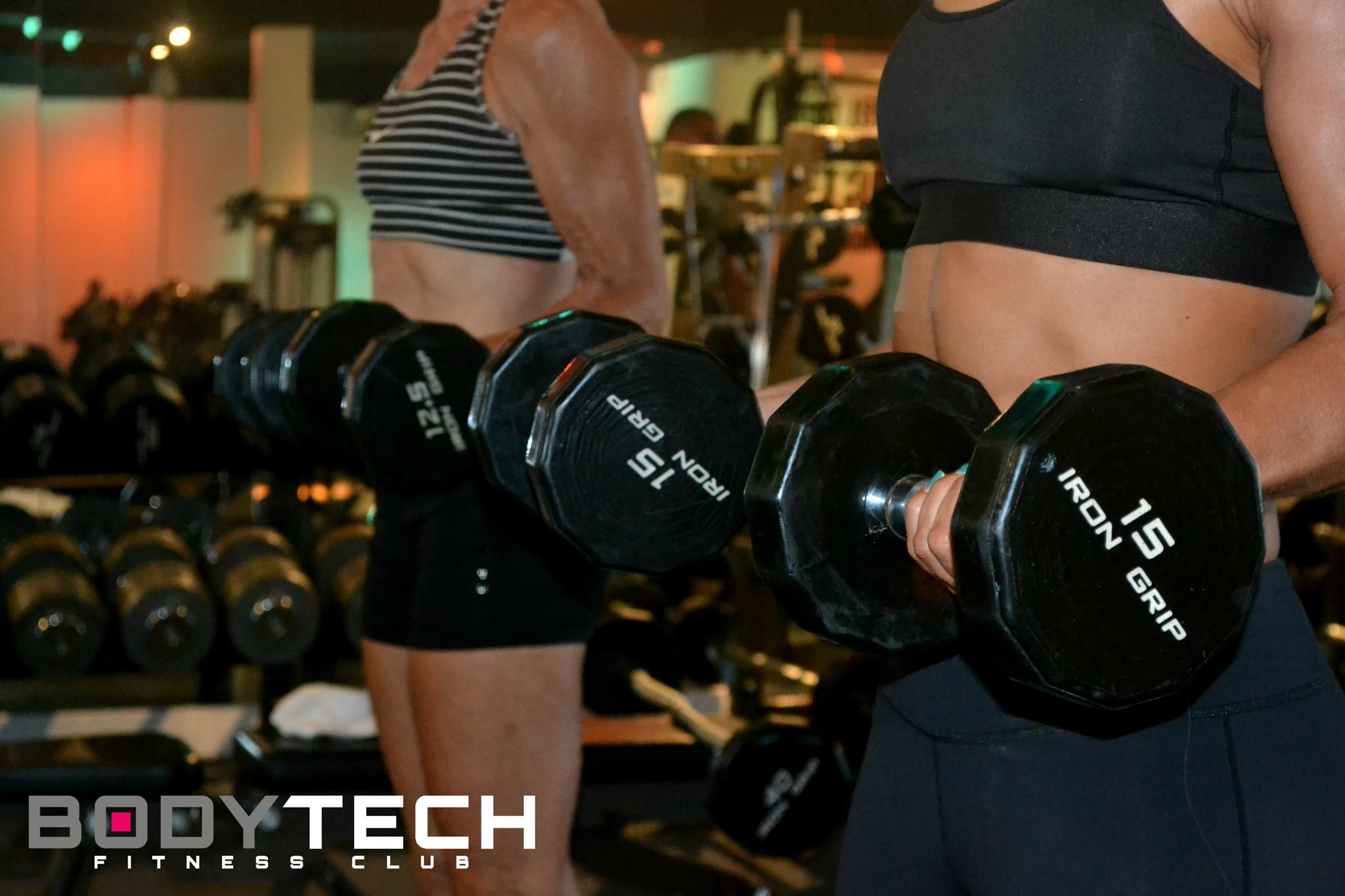 Workout at Body Tech