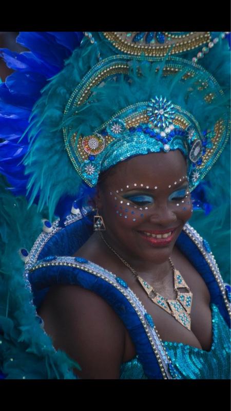 Beautiful Carnival Dancer