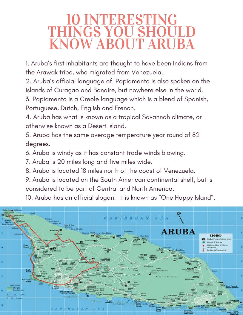 Things you should know about Aruba