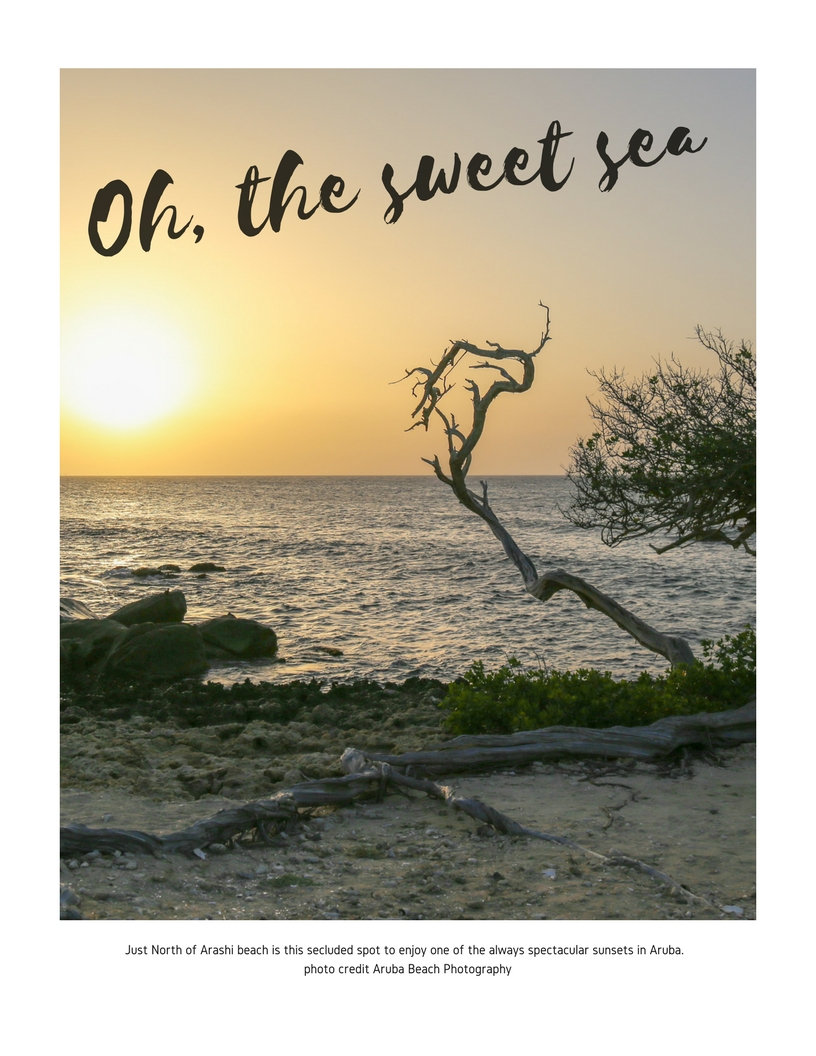 Oh the Sweet Sea by Aruba Beach Photography