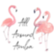 All Around Aruba Flamingo Logo