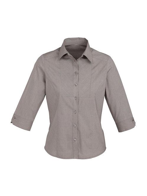 Fashion Biz Ladies 3/4 length sleeve shirt