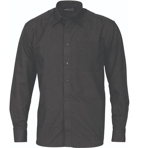 DNC Polyester Cotton Business Shirt Long Sleeve Workwear