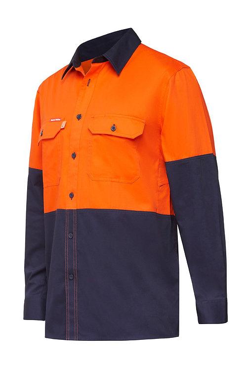 Koolgear Hi-vis Ventilated shirt two tone