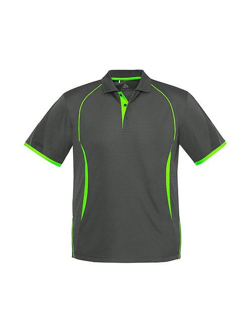 Fashion Biz Razor  Polo  Polyester Sports Interlock