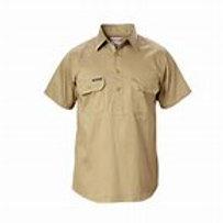 Yakka Closed front Drill Shirt L/SL