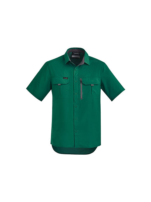 Syzmik Mens Outdoor S/S Shirt