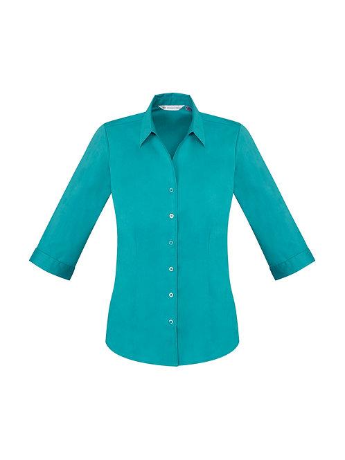 Fashion Biz Ladies Monaco 3/4 Sleeve Shirt