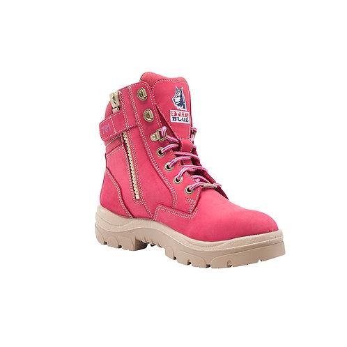 Steel Blue Ladies Southern Cross zip sided boot