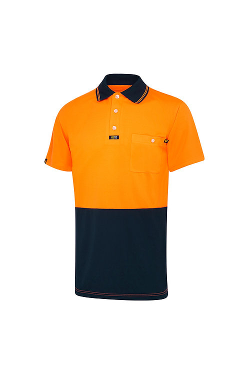 Visitec original Microfibre Polo shirt S/SL