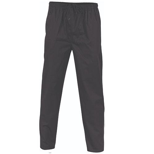 DNC Unisex Workwear Polyester Cotton Drawstring Chef Pants