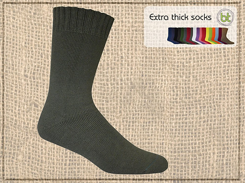 Bamboo Textiles extra thick sock