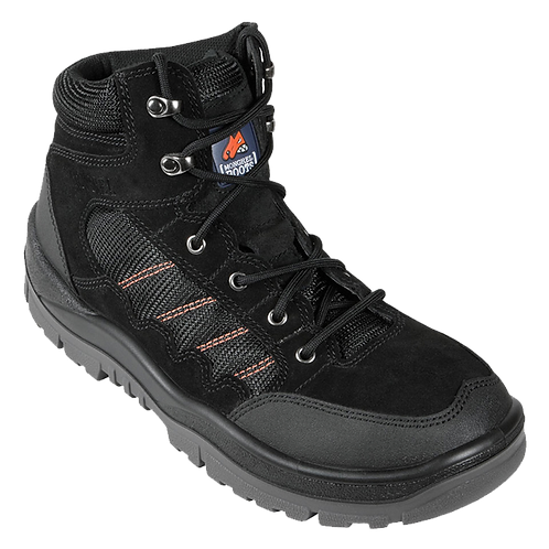 Mongrel Black Hiker Boot