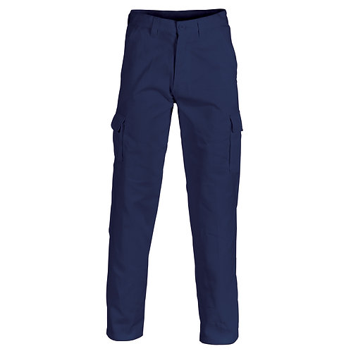 DNC Cotton Drill Cargo Pants