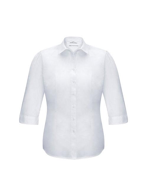 Biz Collection Ladies Euro 3/4 Sleeve Shirt