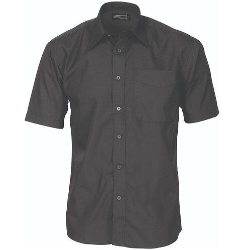 DNC Polyester Cotton Business Shirt Short Sleeve