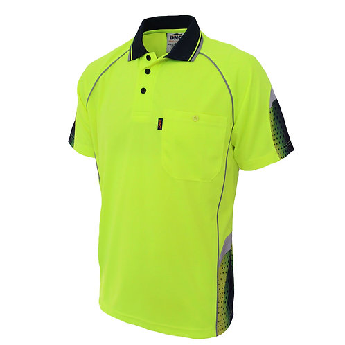 DNC HiVis Galaxy Sublimated Polo