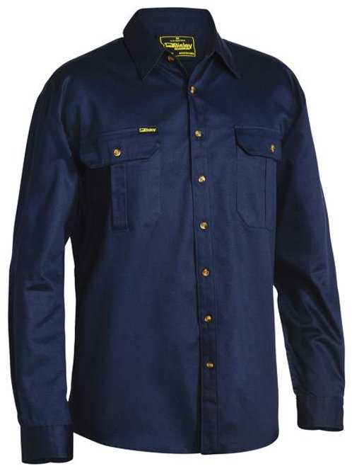 Bisley L/SL Drill shirt